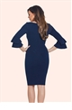 Jessica Wright Izzie Navy Bodycon Dress