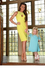 Michelle Heaton Wearing Alexia Dress