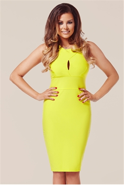 Yellow cocktail dresses uk