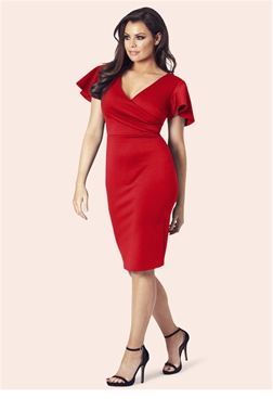 Jessica Wright Tinka Red Bodycon Dress