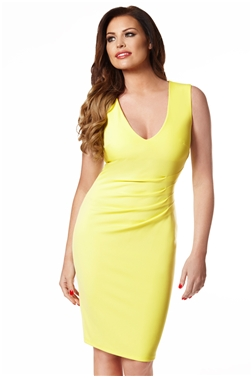 JESSICA WRIGHT ALICE YELLOW BODYCON DRESS- currently unavailable