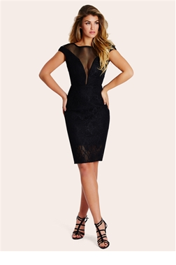 SISTAGLAM LIZZY MESH DRESS
