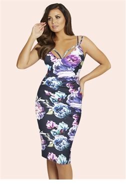 Jessica Wright Emelli multi dress