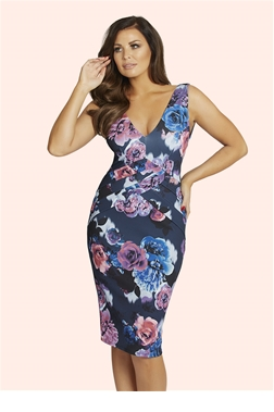 Jessica Wright Cindy Multi Floral Dress
