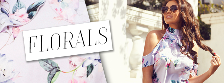 Floral Dresses by Jess Wright and SistaGlam