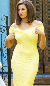 Jessica Wright in Olivia Yellow - Coming Soon