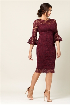 Jessica Wright Luisa Berry Bell Sleeve Lace Bodycon Dress