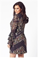 Jessica Wright Layala multi frill sleeve shift dress