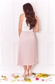 Jessica Wright Betty blush pleated skirt