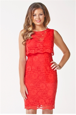 JESSICA WRIGHT LUCIA- RED DRESS