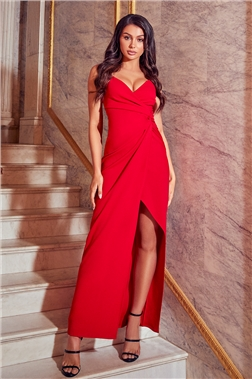 Saydia Red Petite Dress
