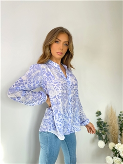 SISTAGLAM CANDICE PRINTED BLOUSE