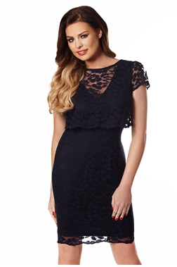 JESSICA WRIGHT ORLA DRESS- LEAF
