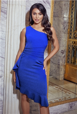 Jessica Wright Loves Sistaglam Tori Blue Midi Dress