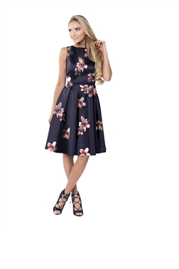 Sistaglam Avrille Floral Prom Dress