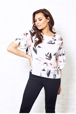 Jessica Wright Floral Eva Top