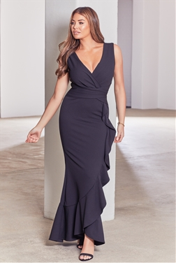 Sistaglam Loves Jessica Wright Adeela black dress
